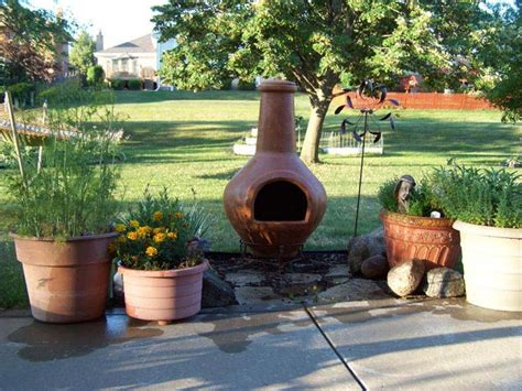 Terracotta Chiminea Fire Pit » Design And Ideas
