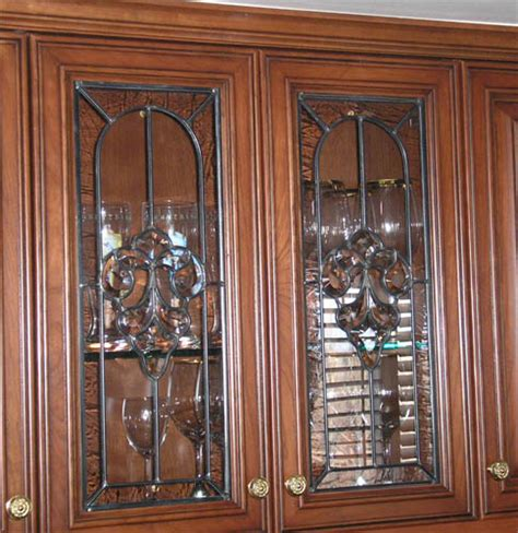leaded glass cabinet doors clear stained glass cabinet doors spotlats
