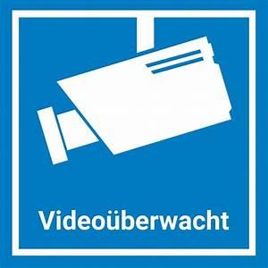 Videoüberwachung Haus Außen : video berwachung aufkleber sticker 15x15cm blau warnaufkleber kamera mit uv schutz ~ Frokenaadalensverden.com Haus und Dekorationen