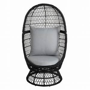 Fauteuil Butterfly Pas Cher : fauteuil oeuf en rotin anya avec coussins pas cher prix ~ Dailycaller-alerts.com Idées de Décoration