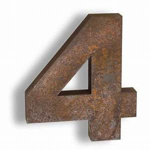 oder letters and numbers on pinterest With corten steel letters