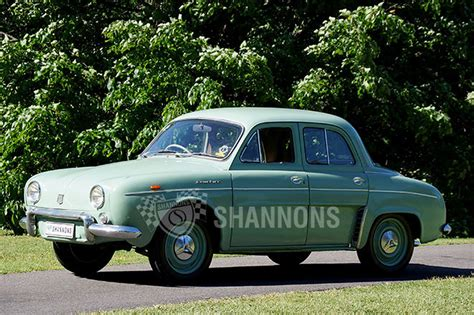 renault dauphine sold renault dauphine sedan auctions lot 2 shannons