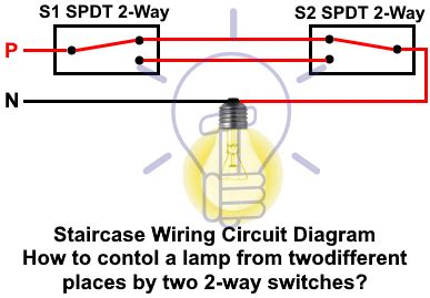2 way switch how to control one l from two or three
