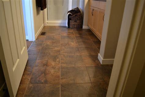 Brown Tile Floor  Tile Design Ideas