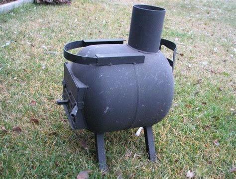 propane tank stove diy gas bottle wood burner camping