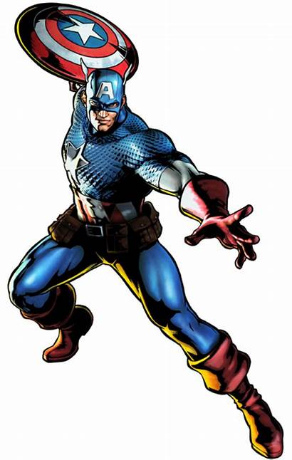 Marvel Captain America Super Heroes Character Powerful
