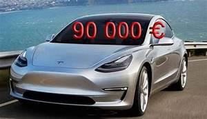 Tesla 4x4 Prix : des tesla model 3 vendues au prix fort sur le march de l 39 occasion ~ Gottalentnigeria.com Avis de Voitures