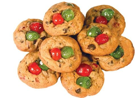 candied cherry chocolate chip cookies recipe