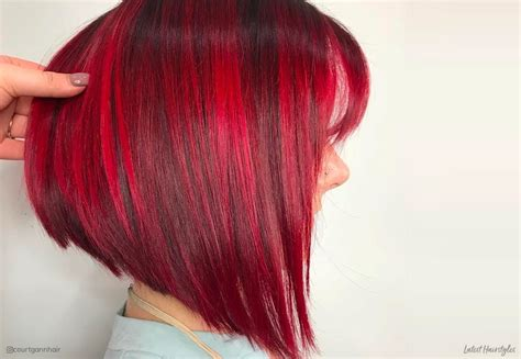 daring short red hair color ideas