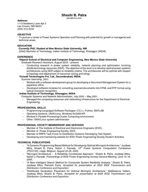 Resume With No Experience Sles by Student Resume No Experience No Experience Resume Template