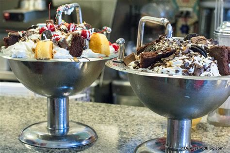 kitchen sink disneyland onthelist the kitchen sink sundae and chocolate