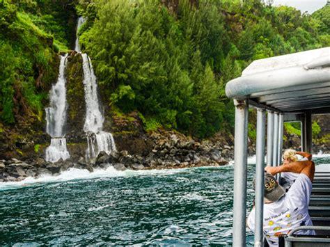 Lava Boat Tours Oahu by Lava Tours Ultimate Hawaii Waterfall Tour Hawaii