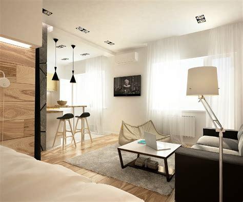 Studio Apartment : Simple, Super Beautiful Studio Apartment Concepts For A