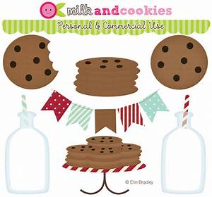 Chocolate Chip Cookies And Milk Clipart (43+)