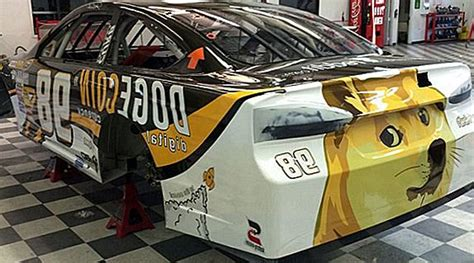 Doge Coin Car - Dogecoin Raises 55 000 To Sponsor Nascar ...