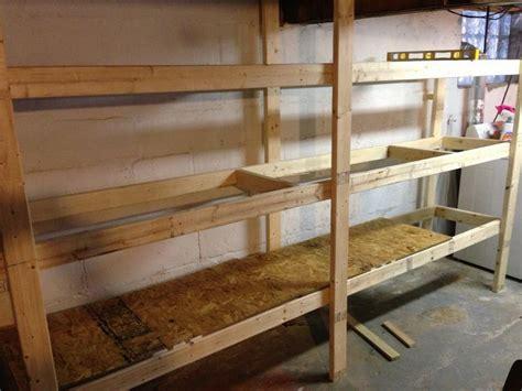cheap loft beds with desk 20 diy garage shelving ideas guide patterns