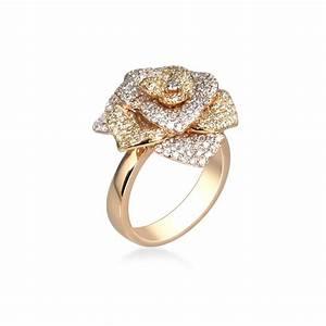 bague fleur quotcorollequot compagnie des gemmes bijoux With bijoux bague