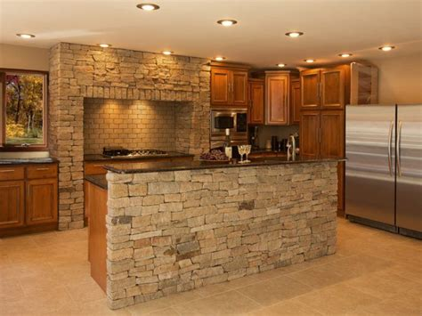 granite kitchen design 20 beautiful brick and kitchen island designs 1291