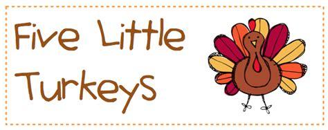 kindergarten fever thanksgiving printables