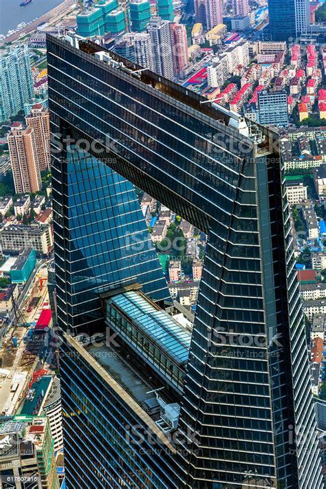 World Financial Center Skyscraper Liujiashui Shanghai ...