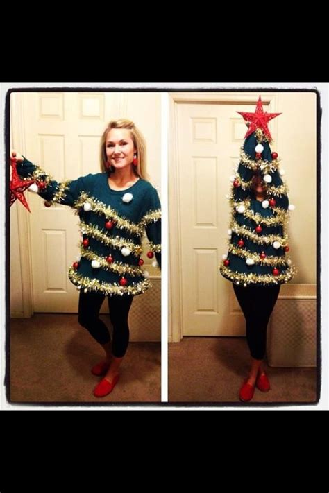 christmas tree sweater costume 17 best images about costume ideas on purple 2369