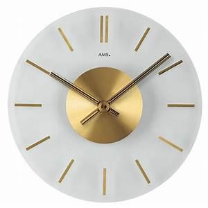 Horloge Murale Moderne : horloge murale moderne golden center ~ Teatrodelosmanantiales.com Idées de Décoration