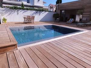terrasse pour piscine beautiful description with terrasse With beautiful comment poser des margelles de piscine 18 terrasse jardin pierre