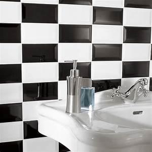 carrelage mural metro artens en faience blanc 75 x 15 With carrelage adhesif salle de bain avec voile d ombrage led