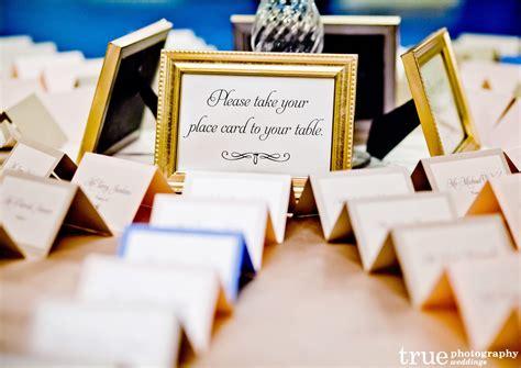 creative wedding reception place card display ideas
