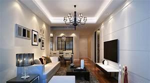 modern ceiling design for small living room