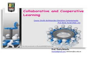 Collaborative and Co-operative Learning