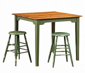 Amish Farmhouse Pub Table