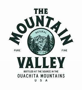 Gallery For > Mountain Water Logo