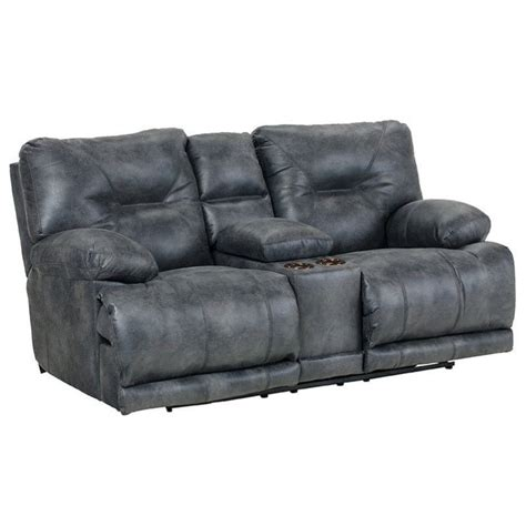 catnapper reclining sofa voyager catnapper voyager lay flat reclining console loveseat in
