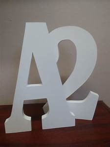Free standing large wooden letters 30 cm 12 painted wooden for Large freestanding wooden letters