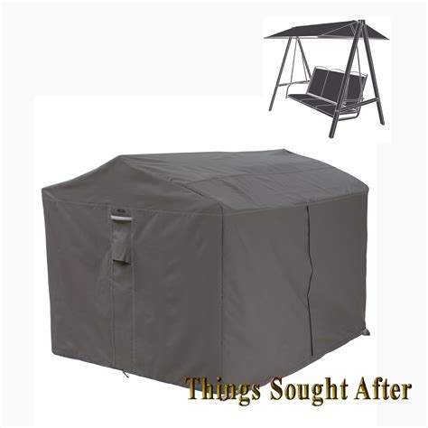 cover for canopy swing outdoor furniture storage porch