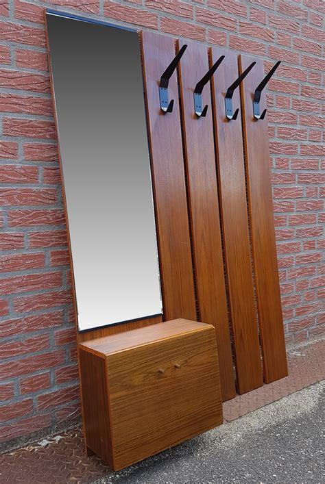 mid century wall mounted coat rack  design market