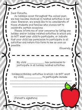 holiday letter  parents   peachy  elementary tpt