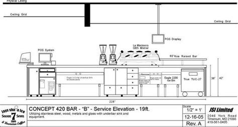 Coffee shop design, not only include the cafe layout, but also the materials for the display fixtures. bar layout - Buscar con Google | Coffee shop bar, Coffee bar design, Bar counter design