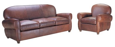 Leather Sleeper Sofa Set by Deco 3 Leather Sleeper Sofa And Club Chair Set