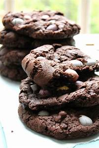 Dark Chocolate & Mini Egg Cookies Recipe