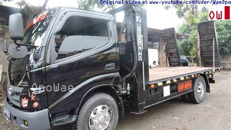 self loader truck toyota dyna 130ht self loader truck using tadano by