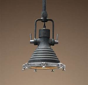 Maritime quot pendant weathered zinc let there be lights