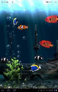 Fond gratuit animé Aquarium – Applications Android sur ...