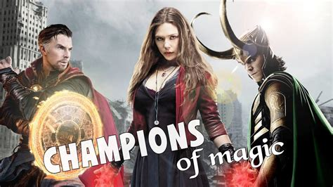 Doctor Strange Loki And Scarlet Witch Champion The
