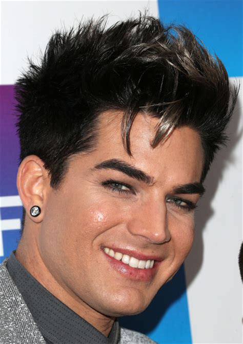 adam lambert pregrammy  neon limelight exclusive