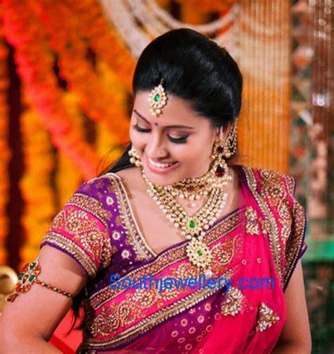 actress snehas complete wedding jewellery indian