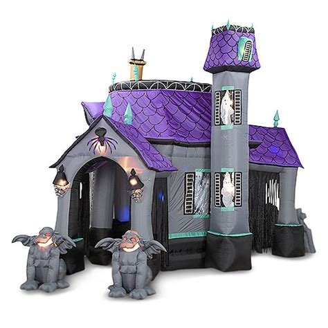 Inflatable Halloween Haunted House - The Green Head