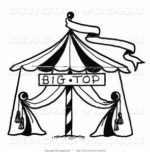 Royalty Free Black and White Stock Circus Designs