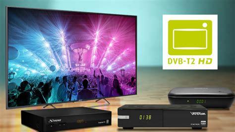 dvb t2 privatsender kosten dvb t2 hd receiver antenne fernseher kosten audio foto bild